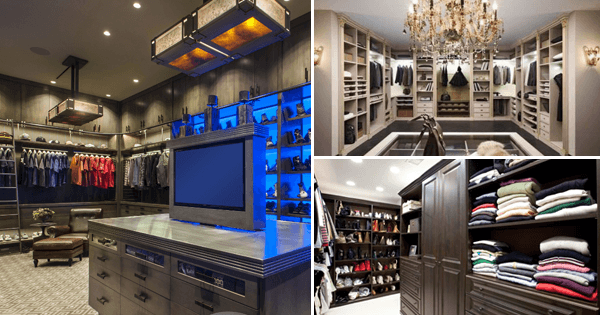 14 Amazing Walk-In Closet Ideas And Designs for 2018