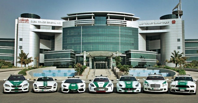 Dubai Police Force Maintains the Most Expensive Exotic Cars in the World
